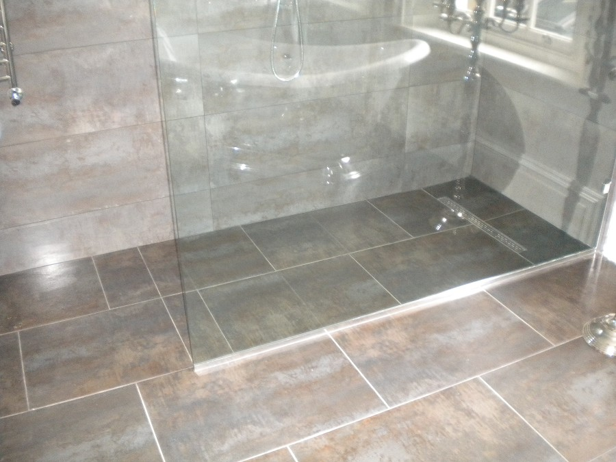 Shower Upgrade From Only Alexander Of Belfast - Wet room design for small bathrooms
